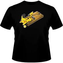 T-shirts (French Days)  parodique Pikachu : Piège à souris ! (Parodie )