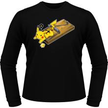 T-Shirts à manches longues  parodique Pikachu : Piège à souris ! (Parodie )