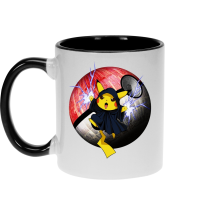 Funny Mugs - The Emperor Palpatine and Pikachu ( Parody)