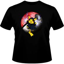 T-shirts  parodique Pikachu et Palpatine Darth Sidious : Pika Dark Side :) (Parodie )