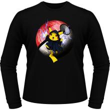 T-Shirts à manches longues  parodique Pikachu et Palpatine Darth Sidious : Pika Dark Side :) (Parodie )