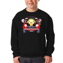 Sweat-shirts  parodique Pikachu, Sasha et Aurore : Pika dépannage (Parodie )