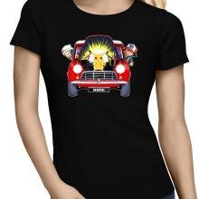 T-shirts Femmes  parodique Pikachu, Sasha et Aurore : Pika dépannage (Parodie )