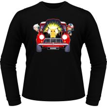 T-Shirts à manches longues  parodique Pikachu, Sasha et Aurore : Pika dépannage (Parodie )