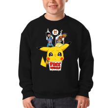 Pull Enfant  parodique Pikachu - Free Hugs : Pika Free Hugs :) (Parodie )