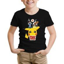 T-shirt Enfant  parodique Pikachu - Free Hugs : Pika Free Hugs :) (Parodie )
