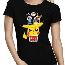 T-shirts Femmes  parodique Pikachu - Free Hugs : Pika Free Hugs :) (Parodie )