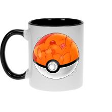 Mug  parodique La Poké Ball de Pikachu : Pika Pas Cool ! (Parodie )