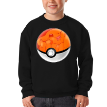Sweat-shirts  parodique La Poké Ball de Pikachu : Pika Pas Cool ! (Parodie )