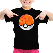 T-shirt Enfant Fille  parodique La Poké Ball de Pikachu : Pika Pas Cool ! (Parodie )