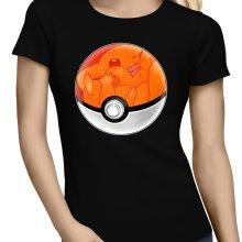 T-shirts Femmes  parodique La Poké Ball de Pikachu : Pika Pas Cool ! (Parodie )