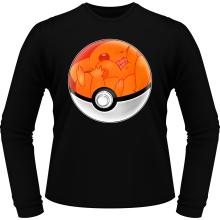 T-Shirts à manches longues  parodique La Poké Ball de Pikachu : Pika Pas Cool ! (Parodie )