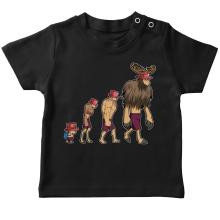 T-shirt bébé  parodique Chopper : Pirate Evolution... :) (Parodie )