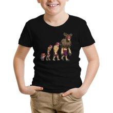 T-shirt Enfant  parodique Chopper : Pirate Evolution... :) (Parodie )