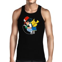 Débardeur  parodique Pikachu : Plus de problème de batterie !! (Parodie )