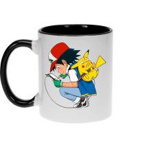 Mug  parodique Pikachu : Plus de problème de batterie !! (Parodie )