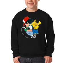 Pull Enfant  parodique Pikachu : Plus de problème de batterie !! (Parodie )