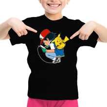 T-shirts  parodique Pikachu : Plus de problème de batterie !! (Parodie )