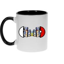 Mugs  parodique Carapuce, Carabaffe et Tortank : Poké-russe Vol.1 :) (Parodie )