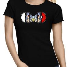 T-shirts Femmes  parodique Carapuce, Carabaffe et Tortank : Poké-russe Vol.1 :) (Parodie )