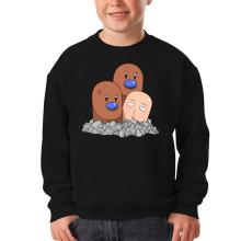 Sweat-shirts  parodique Saitama et Triopikeur : Pokéman !! (Parodie )