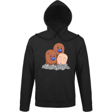 Sweats à capuche  parodique Saitama et Triopikeur : Pokéman !! (Parodie )