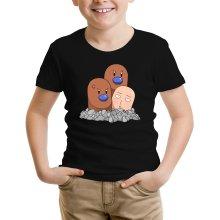 T-shirts  parodique Saitama et Triopikeur : Pokéman !! (Parodie )