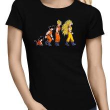 T-shirts Femmes  parodique Sangoku Super Saiyajin : La Théorie de l