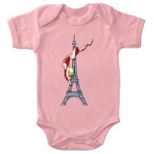 Funny Baby Bodysuit (Baby Girls) - Annie Leonhart Titan Form ( Parody)