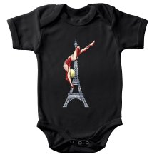 Funny Baby Bodysuit - Annie Leonhart Titan Form ( Parody)