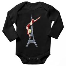 Funny Long sleeve Baby Bodysuit - Annie Leonhart Titan Form ( Parody)