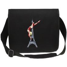 Funny Canvas Messenger Bag - Annie Leonhart Titan Form ( Parody)