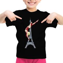 Funny Girls Kids T-shirt - Annie Leonhart Titan Form ( Parody)