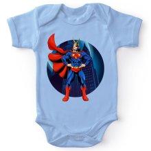 Bodys  parodique All Might X Superman : Super AllMight man :) (Parodie )
