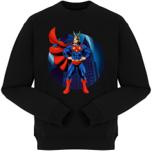 Pulls  parodique All Might X Superman : Super AllMight man :) (Parodie )