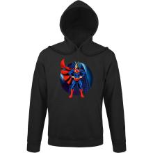 Sweats à capuche  parodique All Might X Superman : Super AllMight man :) (Parodie )