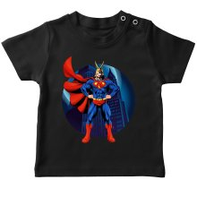 T-shirts  parodique All Might X Superman : Super AllMight man :) (Parodie )