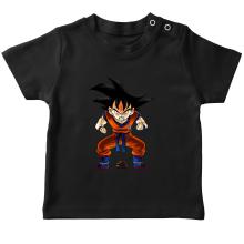 T-shirt bébé  parodique Sangoku : Super Caca - Vol.1 (Parodie )