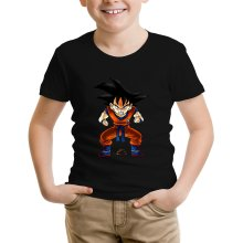 T-shirt Enfant  parodique Sangoku : Super Caca - Vol.1 (Parodie )