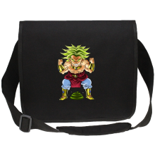 Funny  Canvas Messenger Bag - Broly ( Parody) (Ref:70)
