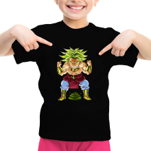 Funny  Girls Kids T-shirt - Broly ( Parody) (Ref:70)