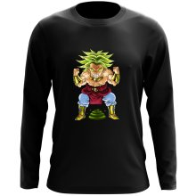 Funny  Long Sleeve Top - Broly ( Parody) (Ref:70)