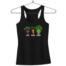 Débardeurs  parodique Sangoku, Broly et Raditz : Super Héros de la Planète Végétale (Parodie )
