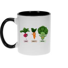 Mugs  parodique Sangoku, Broly et Raditz : Super Héros de la Planète Végétale (Parodie )