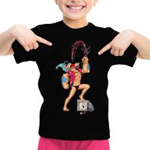 T-shirts  parodique Franky et Popeye : Suuuupppeeerr COLA !!! (Parodie )