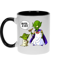 Mugs  parodique Yoda et le Tout Puissant : Ton père, je suis... !! (Parodie )