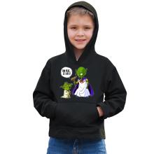 Sweat à capuche  parodique Yoda et le Tout Puissant : Ton père, je suis... !! (Parodie )