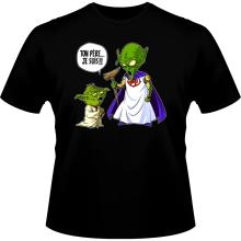 T-shirts  parodique Yoda et le Tout Puissant : Ton père, je suis... !! (Parodie )