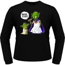 T-Shirts à manches longues  parodique Yoda et le Tout Puissant : Ton père, je suis... !! (Parodie )