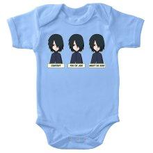 Body bébé  parodique Sasuke Uchiwa : Toujours aussi expressif... (Parodie )